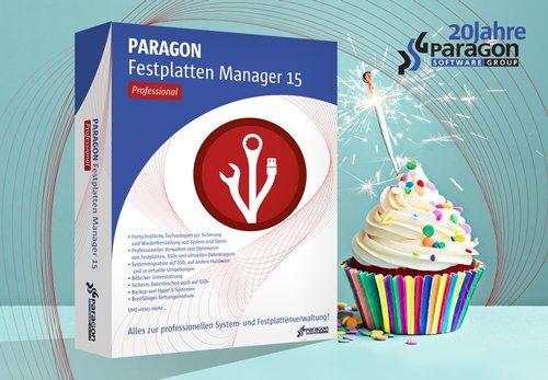 [NOCH 10 MINUTEN!] Paragon Festplatten Manager 15