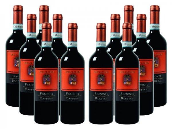 Weinvorteil.de - 12er-Paket Reggio - Barbera - Piëmonte DOC Nur 34,38 € mit CODE: rebuy20