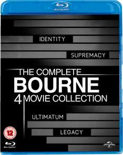 The Complete Bourne Movie Collection Blu-ray - zavvi