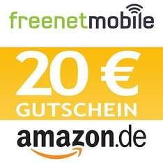 @eBay: freenetMobile freeSmart SIM-Karte & 20,00 Euro Amazon Gutschein