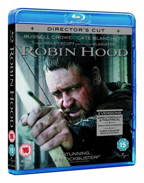 Blu-ray - Robin Hood (Director's Cut / 2 Discs) für €4,53 (15 Prozent auf alle Blu-rays) [@Wowhd.se]