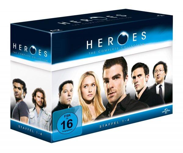 Heroes - Gesamtbox/Season 1-4 [Blu-ray] [Limited Edition]