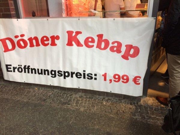 [Lokal] Berlin Friedrichstr Döner 1,99