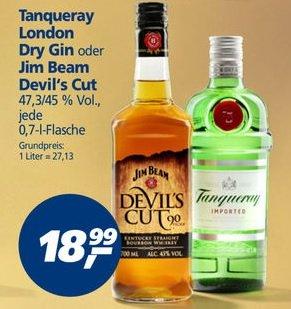 REAL Jim Beam Devils Cut (300 Payback Punkte ecoupon)effektivpreis 15,99