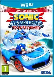 Sonic All Stars Racing Transformed: Limited Edition (Wii U) für 13,03€ @base.com via rakuten.co.uk mit Gutschein SPEND10 (Zahlung per Kreditkarte)