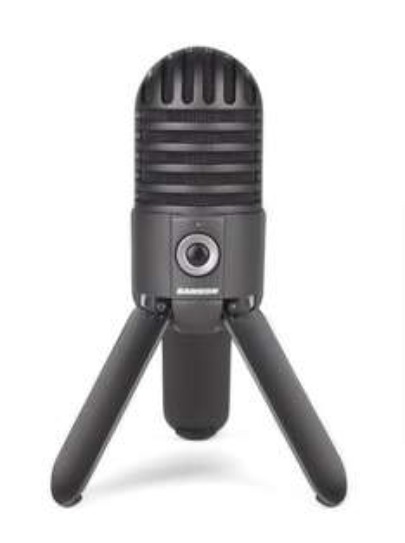 [amazon_Blitzangebot] Samson Meteor Titanium, schwarz, USB Mikrofon