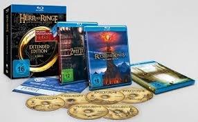 Der Herr der Ringe - Die Spielfilm Trilogie (Extended Edition) inkl. Kinogutschein für Hobbit 3 und Sammlermünze (exklusiv bei Amazon.de) [Blu-ray] [Limited Edition] 54,99€ mit gutschein 44,99€
