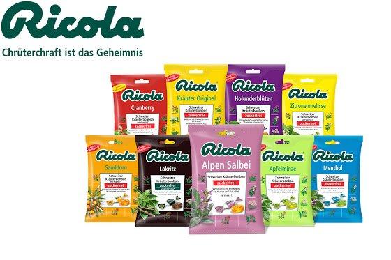 Ricola Zuckerfrei - Globus Markt - 1,29Euro - -0,90Euro Sondoo Cashback