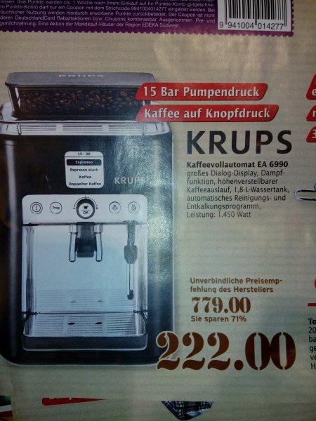 Krups Kaffeevollautomat EA 6990 [Marktkauf Biberach]