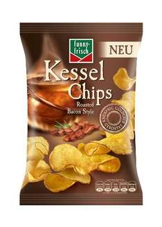 [Amazon Plus Produkt] 4x Funny-Frisch Kessel Chips Roasted Bacon