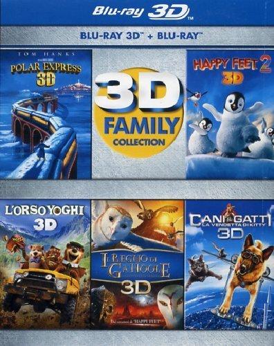 Amazon.de: 3D Family Collection (5x  Blu-ray 3D + 2D, IT-Import) für 29,45 €