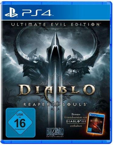 [bücher.de] Diablo 3 Ultimate Evil Edition (PlayStation 4 und Xbox ONE) für 35€
