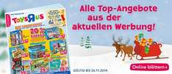[Toysrus Filialen] 20% auf LEGO ab 80 EUR Einkaufswert ab 27.11.2014