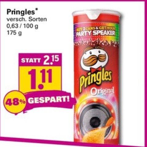 Pringles am nächsten Samstag (29.11) für 1,11€ bei Netto (mit Hund)
