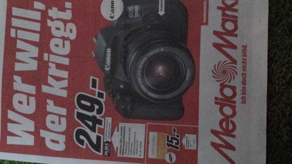 MM Erfurt Canon Eos 1200D mit 18-55 DC III für 249 Euro