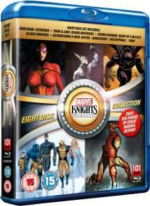 (UK) Marvel Knights Collection [8 x Blu-Ray]für 17.79€ @ Zavvi