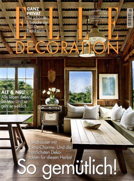 Jahresabo der Zeitschrift Elle Decoration für effektiv 1€ durch 25€ Verrechnungsscheck