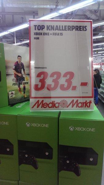 lokal Media Markt Stuttgart xbox one + fifa 15 für 333€