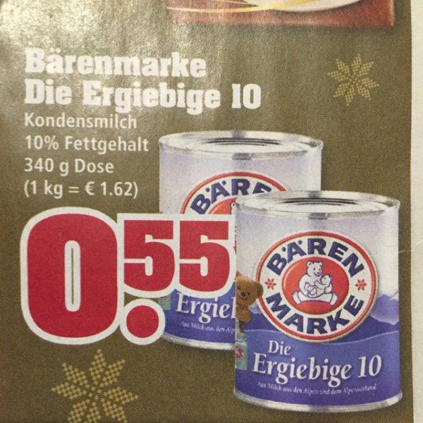 0,55€ Bärenmarke Die Ergiebige 10 [Trinkgut] ab 24.11