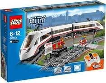 real,- (online): LEGO City 60051 Hochgeschwindigkeitszug bei Filialabholung nur 76,46 Euro