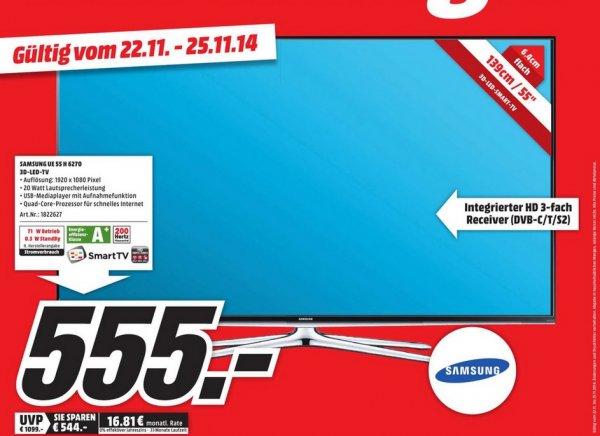"""[Lokal] Samsung 55"""" H6270 für 555,00 EUR - MM Neubrandenburg"""