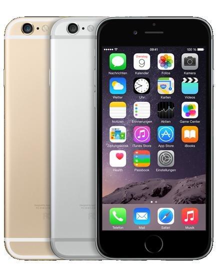 "Apple iPhone 6 (128 GB) + Vodafone Smart XL ""ALLNET- FLAT + 1,5 GB LTE"" - Redcoon (Online)"
