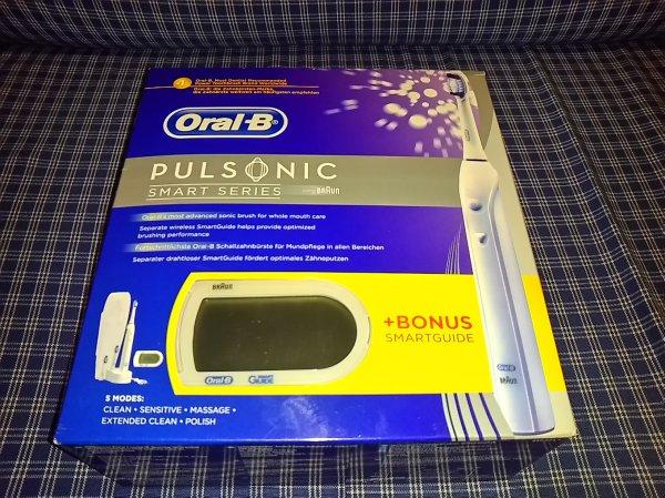 Thomas Philipps die Braun Oral B PULSONIC + gratis Smartguide für 39,99 Euro