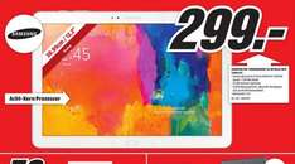 Samsung Galaxy Tab Pro 12.2 32GB WiFi für 299€ LOKAL @ Mediamarkt Krefeld