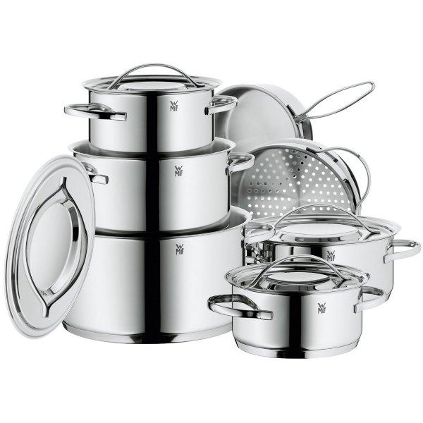 [Amazon] WMF Gala Plus 7-teiliges Kochgeschirr-Set für 144,44