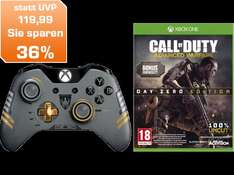 @Saturn AT Online MICROSOFT Xbox One Bundle Wireless Controller CoD Limited Edition + Call Of Duty Advanced Warfare für Xbox ONE