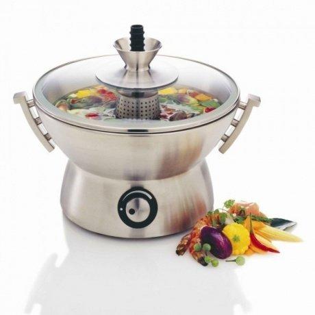 Rakuten: Novis 6015.21 Gourmet Topf inklusiv Fondue Set-Aufsatz und 6 Fonduegabeln und Kochbuch für 109,90€