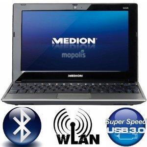 """MEDION E1226 10"""" Netbook (1,66GHz Intel® Atom™ N455, USB 3.0, 1GB RAM, 250GB HDD, 6 Zellen Akku, Bluetooth) @ Ebay -14%"""