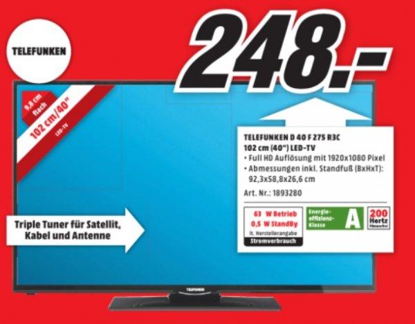 Telefunken D40F275R3C (40 Zoll) für 248 € @ MM Aschaffenburg