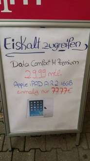 (Berlin) iPad Air 2 Angebot mit Data Comfort M Premium
