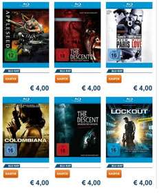 [Media-Dealer] 6 BluRays für je 4,- Euro (Appleseed, Colombiana, etc.)