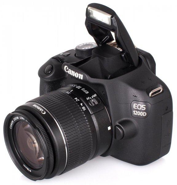 [Media Markt] CANON EOS 1200D+18-55mm IIIDC, online - 249,-