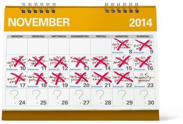 eBay Aktion - der Monat der Verkäufer - Vorschau 24.11. - 30.11.