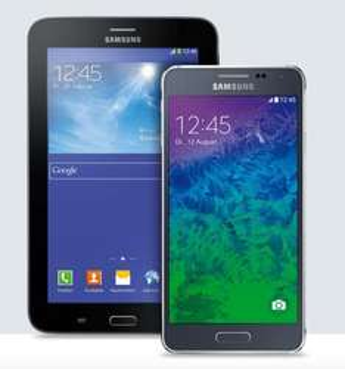 Samsung GALAXY Alpha 32GB & GALAXY Tab 3 7.0 für 494€ @Smartkauf