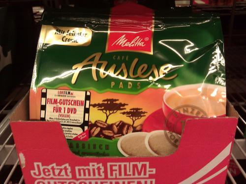 [OFFLINE] Gratis Film leihen bei Lovefilm beim Kauf von einer Packung Melitta Kaffeepads