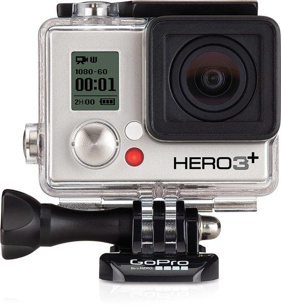 GoPro HERO3+ Silver Edition für 224,15 € @Amazon.de