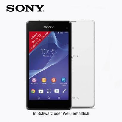 Sony Xperia Z1 Compact in schwarz&weiß ab 4.12. bei Aldi Nord für 279€