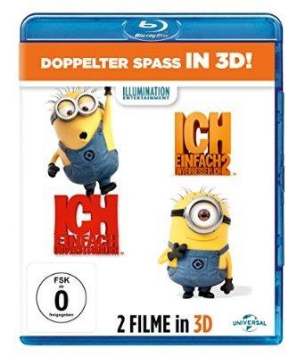 Ich - Einfach unverbesserlich 1&2 [Blu-ray 3D] für 18,97 € (Prime)  > [amazon.de]