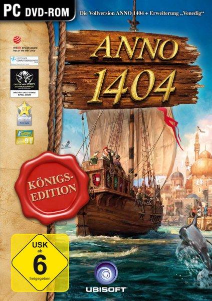 ANNO 1404 - Königs Edition (PC) für 4,99€ @ Gameladen.com