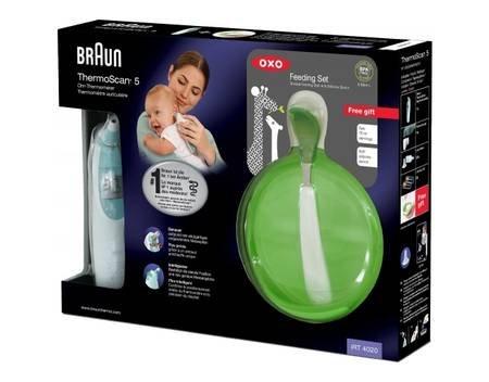 Braun IRT 4020 ThermoScan + OXO Baby-Fütter-Set für 26,99€ @ MeinPaket