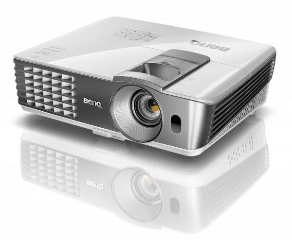 BenQ W1070+ DLP Beamer, FullHD 3D, 2.200 ANSI Lumen für 699€ @ Notebooksbilliger via eBay