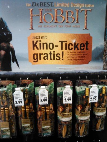 [lokal? Kaufland Paderborn] 2 dr. best zahnbürsten mit kino ticket für den neuen Hobbit