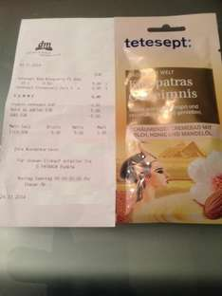 (dm) Tetesept Kleopatras Geheimnis durch Coupies gratis