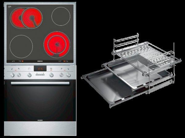 [Lokal MediaMarkt Lahr] Siemens Einbauherd Set EQ271EK01T mit 3-Fach Teleskopauszug für 444Euro