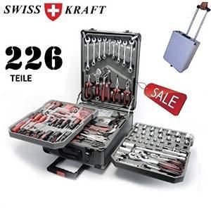 [Ibood] Swiss Kraft Werkzeugtrolley mit 226 Teilen anstatt 119,80 / -26%