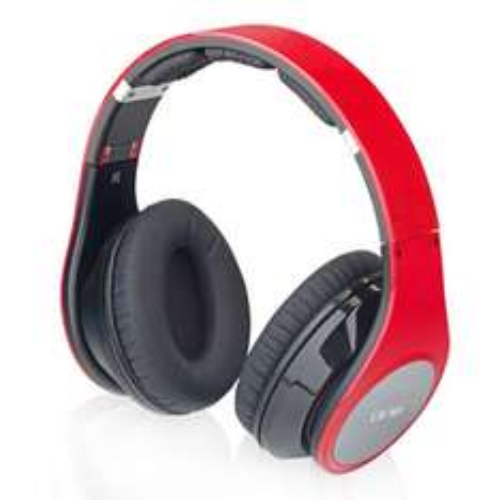 SEG One AP131 rot Bluetooth Kopfhörer Over Ear MP3 Player Akku